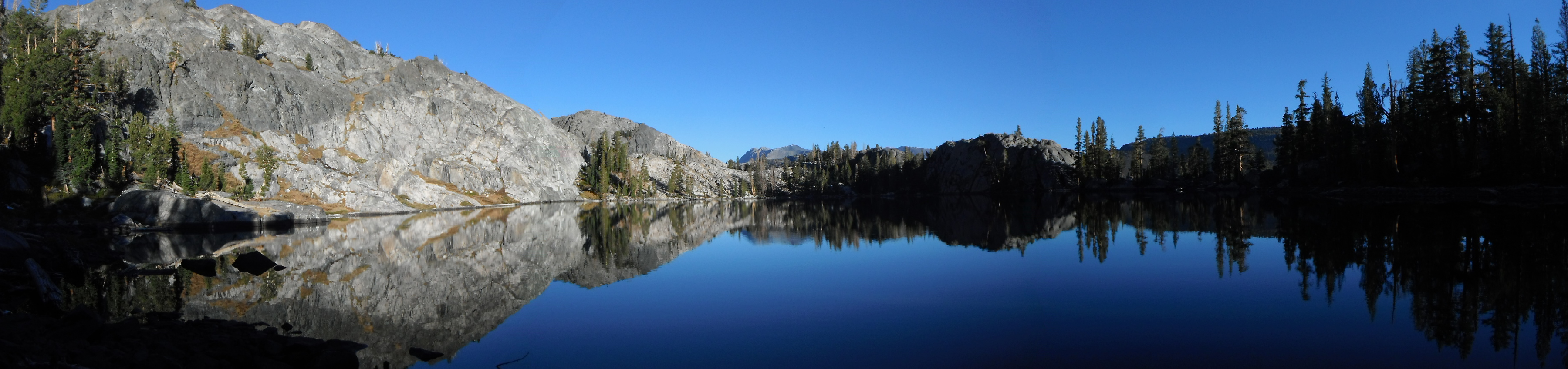Altha Lake Panorama, near Mammoth Lakes, CA by Dave Norton